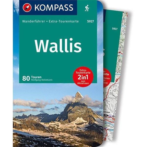 KOMPASS Wanderführer Wallis, Oberwallis - Wanderführer