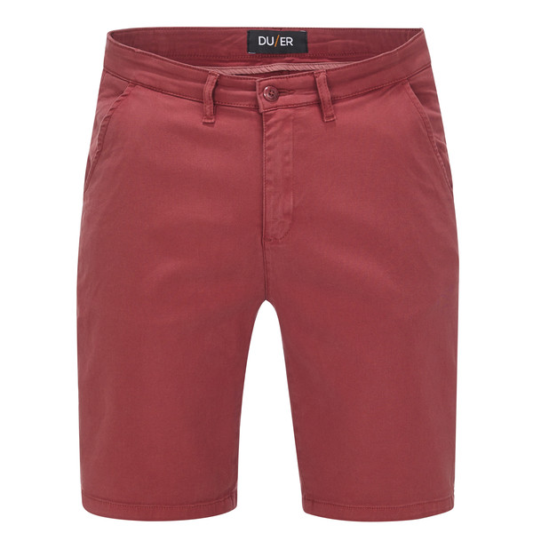DU/ER LIVE LITE JOURNEY SHORT - BRICK Männer - Shorts