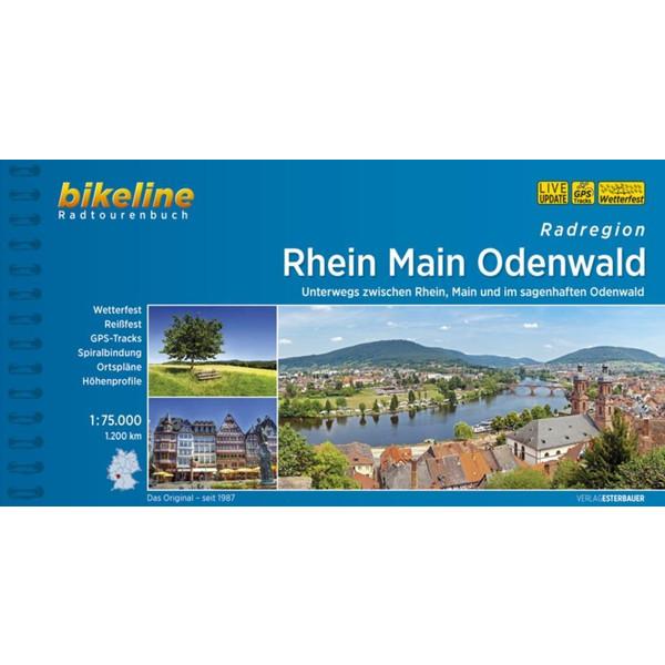 Rhein Main Odenwald 1 : 75 000 - Radwanderführer