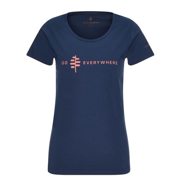 Royal Robbins ROYAL ROBBINS LOGO TEE Frauen - T-Shirt