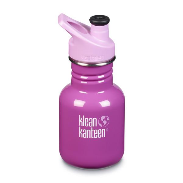 Klean Kanteen KID CLASSIC EINWANDIG, 355 ML, SPORT CAP 3.0 - Trinkflasche