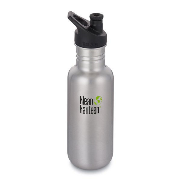 Klean Kanteen CLASSIC EINWANDIG, 532 ML, SPORT CAP 3.0 - Trinkflasche