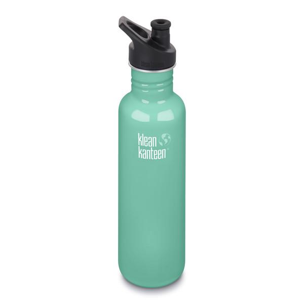 Klean Kanteen CLASSIC EINWANDIG, 800 ML, SPORT CAP 3.0 - Trinkflasche