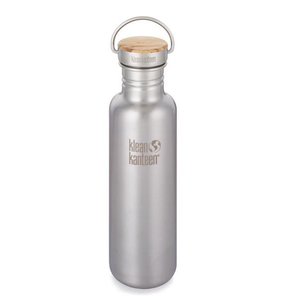 Klean Kanteen REFLECT EINWANDIG, 800 ML, BAMBOO CAP - Trinkflasche