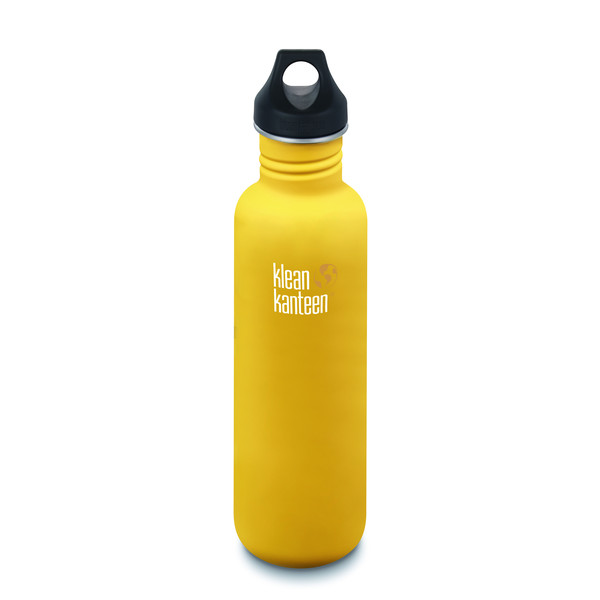 Klean Kanteen CLASSIC EINWANDIG, 800 ML, LOOP CAP - Trinkflasche