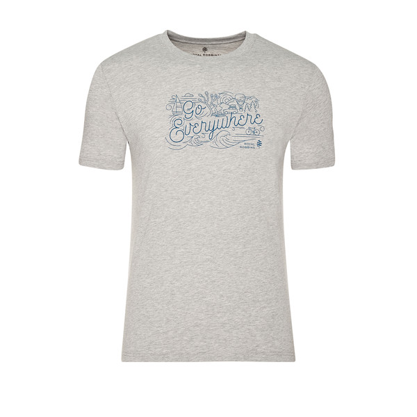 Royal Robbins GO EVERYWHERE TEE Männer - T-Shirt