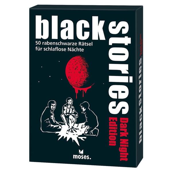 BLACK STORIES DARK NIGHT EDITION - Reisespiele