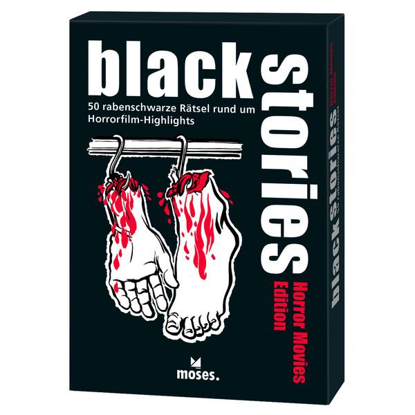 BLACK STORIES - HORROR MOVIES EDITION - Reisespiele