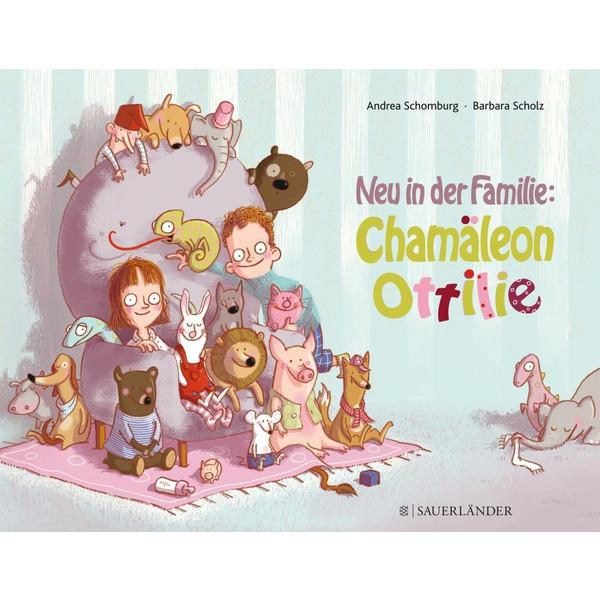 NEU IN DER FAMILIE: CHAMÄLEON OTTILIE - Kinderbuch