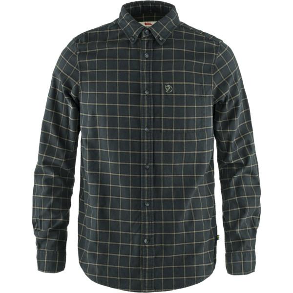 Fjällräven ÖVIK FLANNEL SHIRT M Männer - Outdoor Hemd