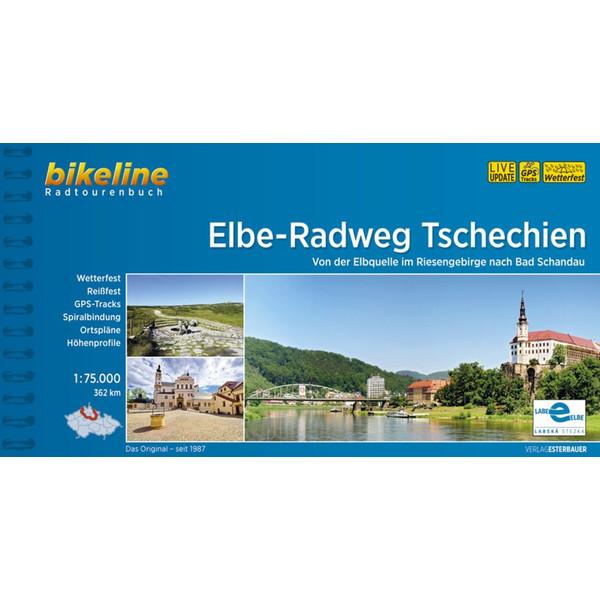 ELBE-RADWEG TSCHECHIEN - Radwanderführer