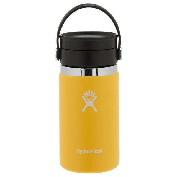 Hydro Flask 12 OZ WIDE MOUTH WITH FLEX SIP LID SUNFLOWER - Thermobecher