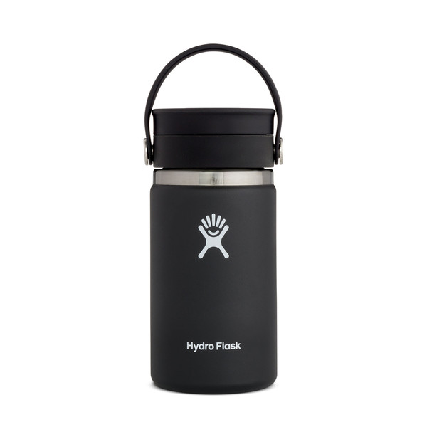 Hydro Flask 20 OZ WIDE MOUTH WITH FLEX CAP BLACK 2.0 - Trinkflasche