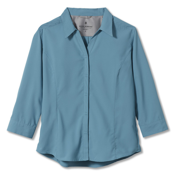 Royal Robbins EXPEDITION 3/4 SLEEVE Frauen - Outdoor Bluse