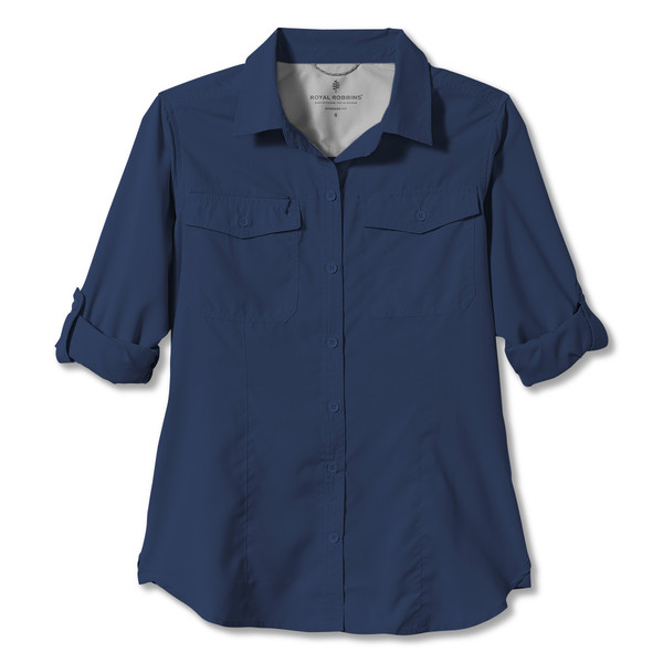 Royal Robbins EXPEDITION L/S Frauen - Outdoor Bluse