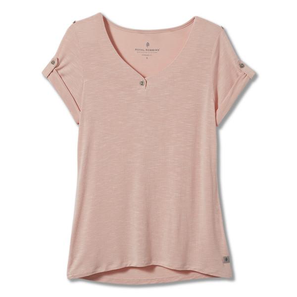 Royal Robbins NOE HENLEY S/S Frauen - T-Shirt