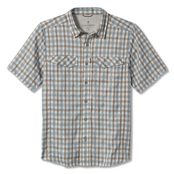 Royal Robbins TRAVEL LIGHT S/S Männer - Outdoor Hemd