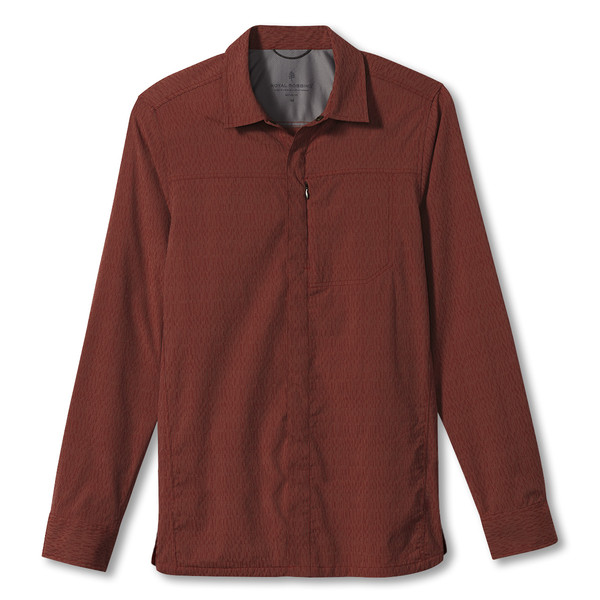 Royal Robbins MISSION DOBBY L/S Männer - Outdoor Hemd