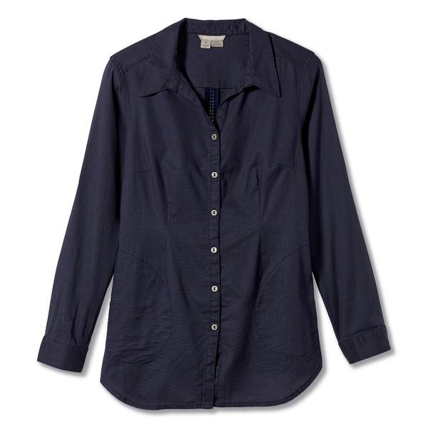 Royal Robbins COOL MESH L/S ECO TUNIC II Frauen - Outdoor Bluse