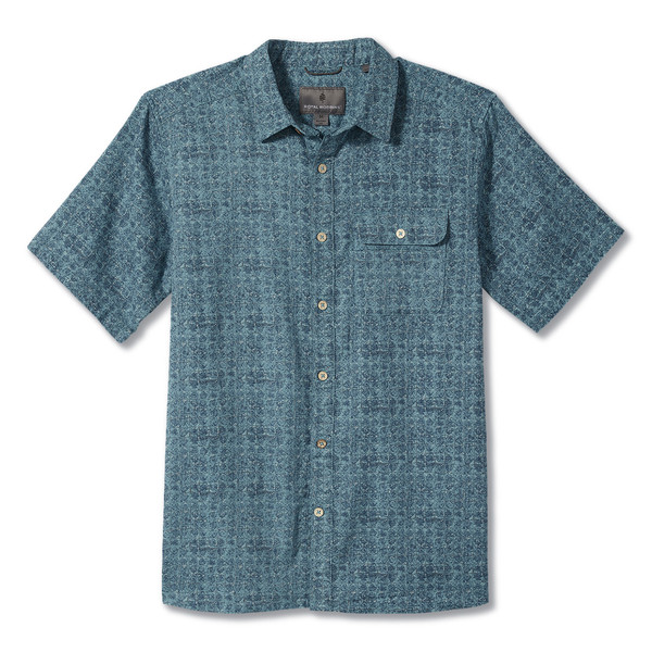 Royal Robbins COOL MESH ECO PRINT S/S Männer - Outdoor Hemd