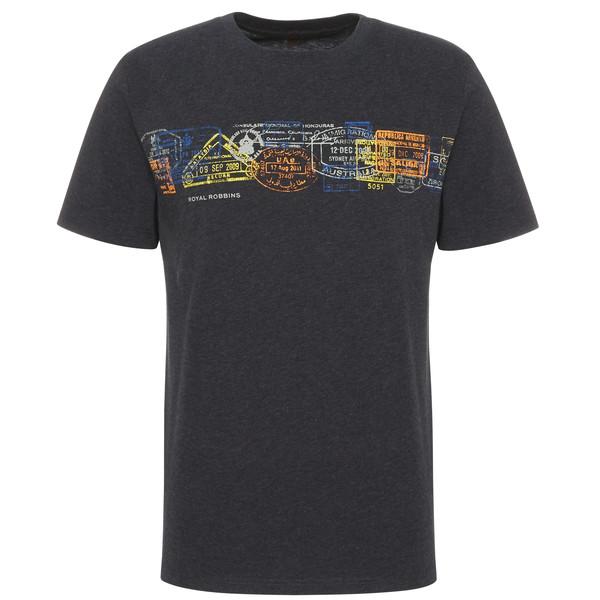 Royal Robbins PASSPORT STAMPS POCKET TEE S/S Männer - T-Shirt
