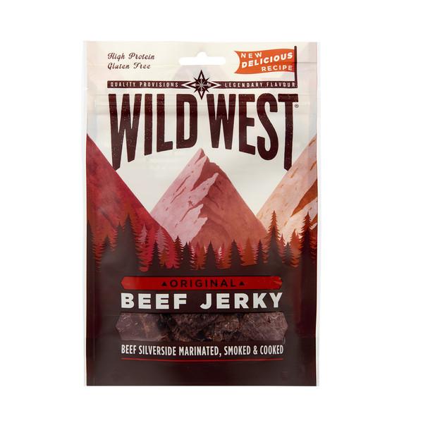 Wild West Beef Jerky WILD WEST BEEF JERKY ORIGINAL - Trockenfleisch