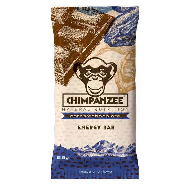 Chimpanzee CHIMPANZEE ENERGY BAR DATES &  CHOCOLATE - Müsliriegel
