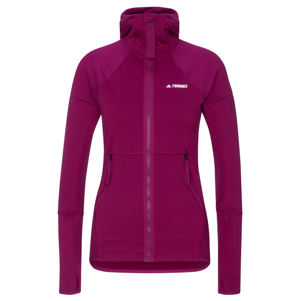 Adidas TERREX TECH FLOOCE HOODED HIKING FLEECE Frauen - Fleecejacke