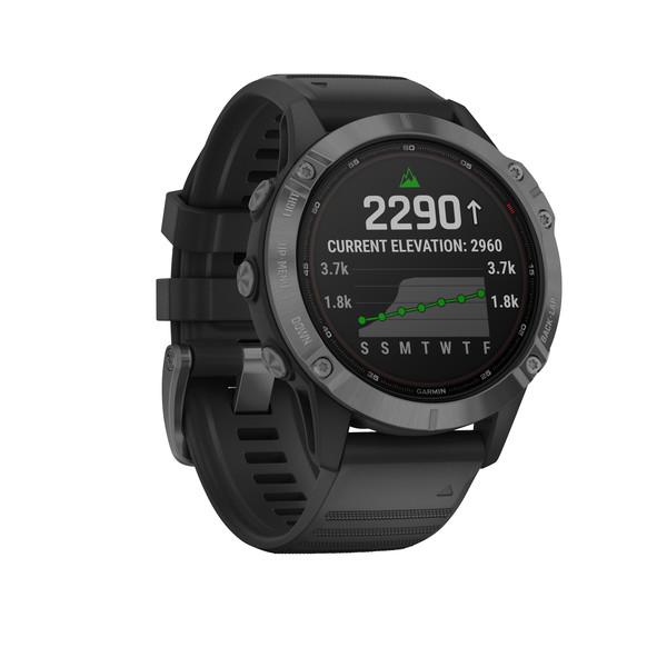 Garmin FENIX 6 PRO SOLAR 47 MM SCHWARZ/GRAU - Smartwatch