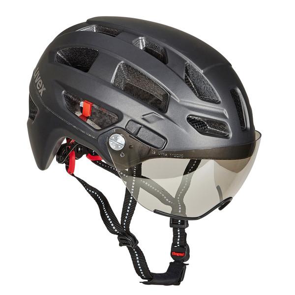 Uvex FINALE VISOR BLACK MAT Unisex - Fahrradhelm