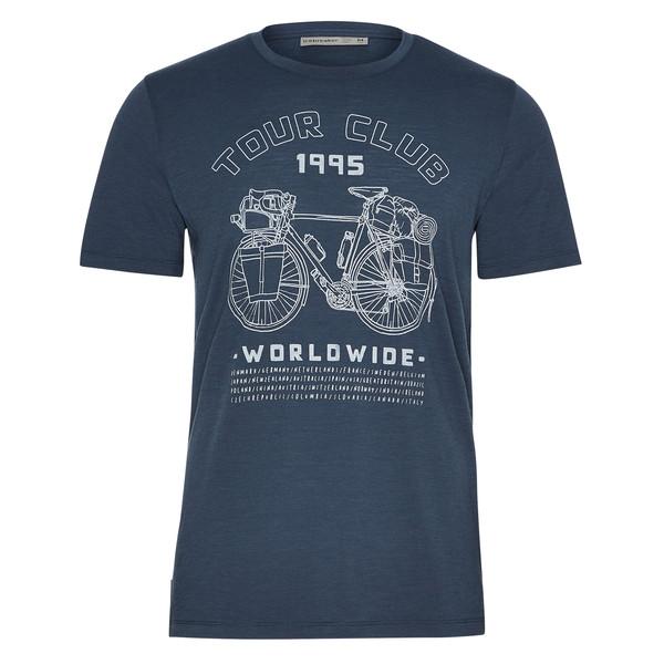 Icebreaker M TECH LITE SS CREWE TOUR CLUB 1995 Männer - Funktionsshirt