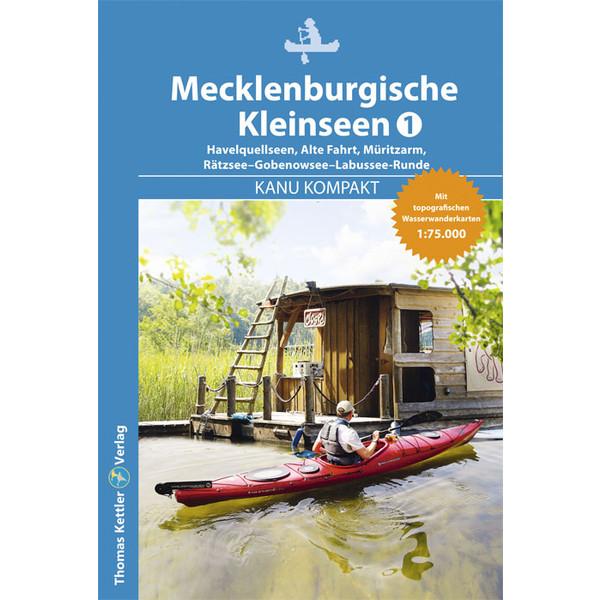 KANU KOMPAKT MECKLENBURGISCHE KLEINSEEN 1 - Gewässerführer