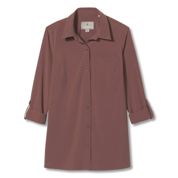 Royal Robbins SPOTLESS TRAVELER L/S Frauen - Outdoor Bluse