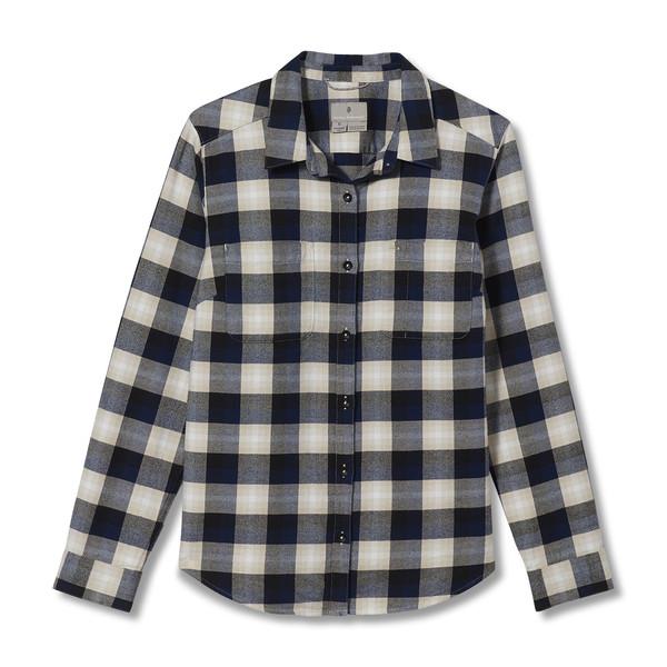 Royal Robbins LIEBACK ORGANIC COTTON FLANNEL L/S Frauen - Outdoor Bluse