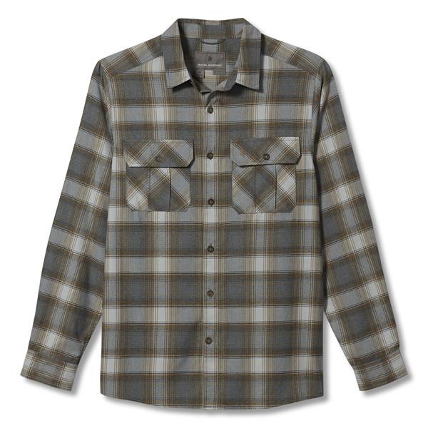 Royal Robbins LOST COAST FLANNEL PLAID L/S Männer - Outdoor Hemd