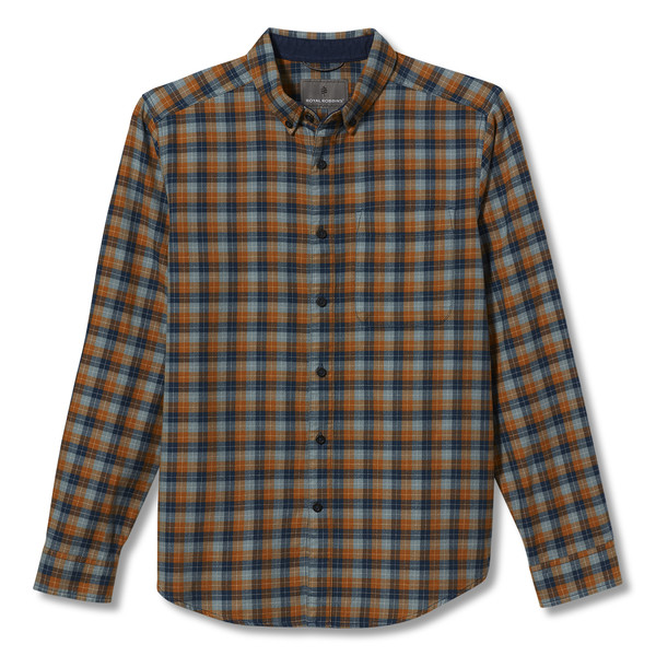 Royal Robbins LIEBACK ORGANIC COTTON FLANNEL L/S Männer - Outdoor Hemd