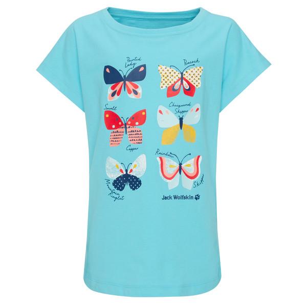 Jack Wolfskin BUTTERFLY T GIRLS Kinder - T-Shirt