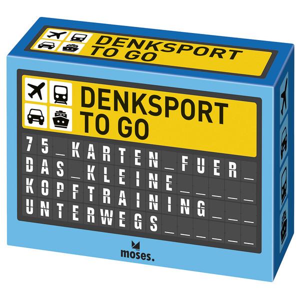 Moses Verlag DENKSPORT TO GO Kinder - Reisespiele