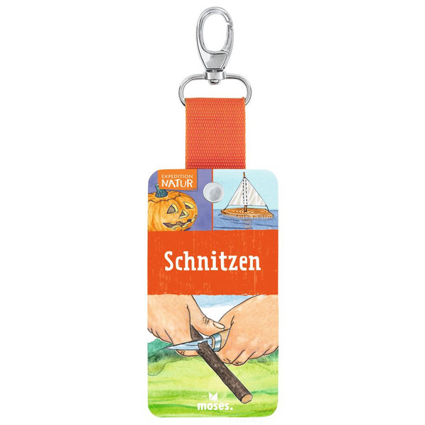 Moses Verlag EXPEDITION NATUR - FÄCHER SCHNITZEN Kinder - Ratgeber
