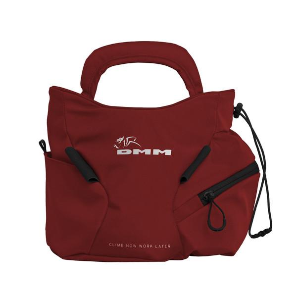 DMM EDGE BOULDER CHALK BAG RED Unisex - Chalkbag