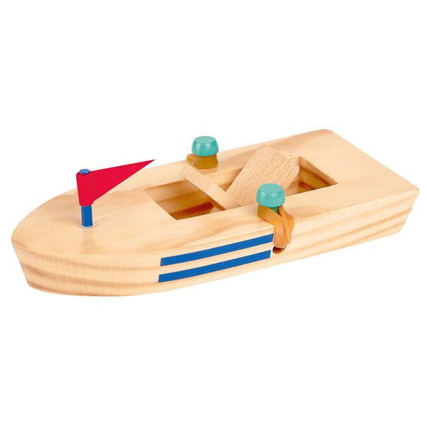 Moses Verlag HOLZBOOT MIT GUMMIMOTOR Kinder - Spielzeug