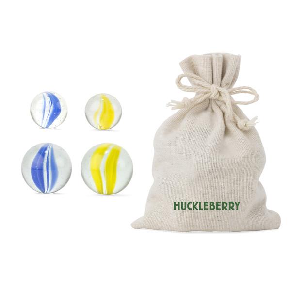 Kikkerland HUCKLEBERRY MARBLES - Spielzeug