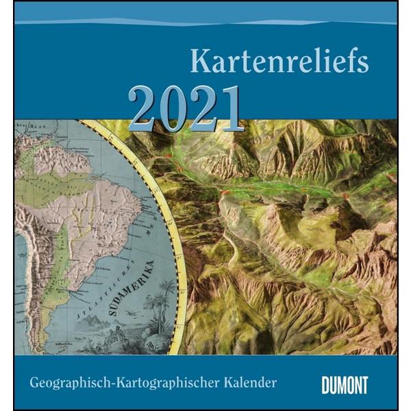 HAACK KARTENRELIEFS KALENDER 2021