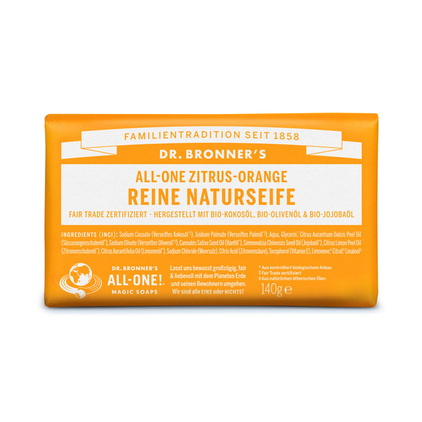 Dr. Bronner' s REINE NATURSEIFE (STÜCKSEIFE) - Outdoor Seife