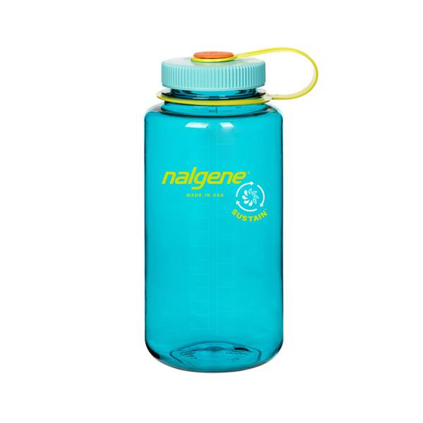 Nalgene 32OZ WIDE MOUTH SUSTAIN CERULEAN - Trinkflasche
