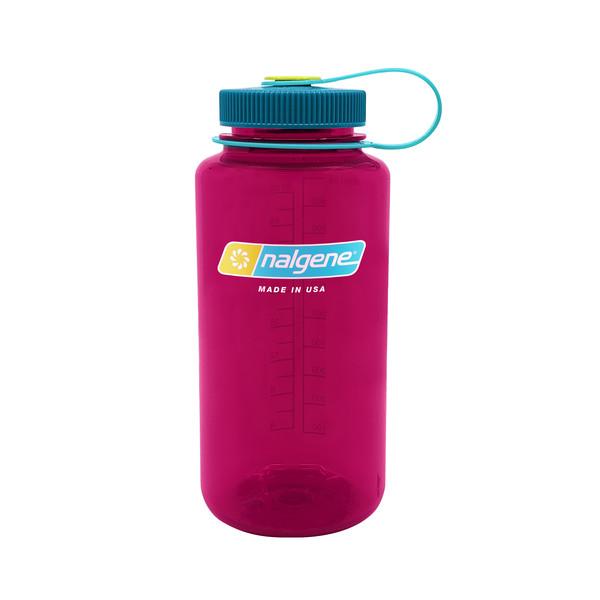 Nalgene 32OZ WIDE MOUTH BOTTLE EGGPLANT - Trinkflasche