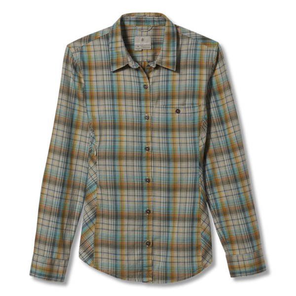 Royal Robbins DREAM TREKKER FLANNEL L/S Frauen - Outdoor Bluse