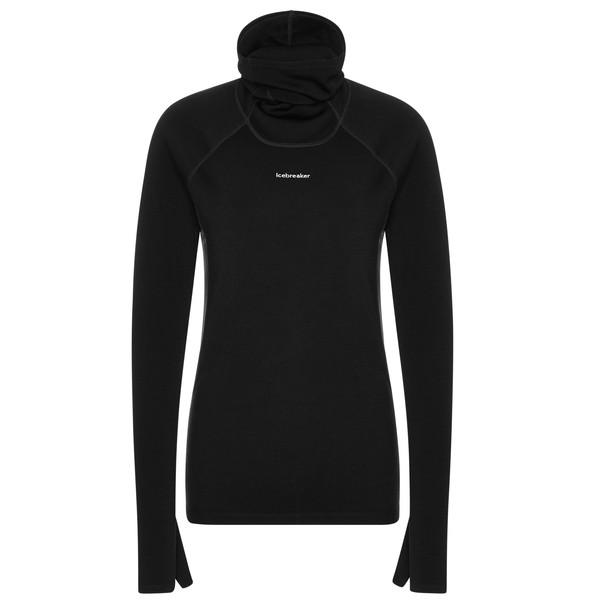 Icebreaker W MERINO LS ROLL NECK Frauen - Funktionsshirt