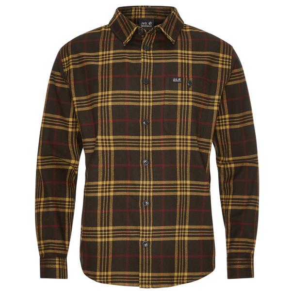 Jack Wolfskin CABIN VIEW SHIRT M Männer - Outdoor Hemd