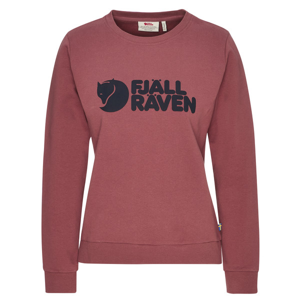 Fjällräven FJÄLLRÄVEN LOGO SWEATER W Frauen - Sweatshirt
